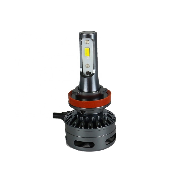 E9 30W 3000LM Tri-color car led headlight bulb H1 H7 H8/H11 9005/9006 9012 car lights led headlights