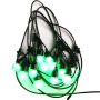 ip65 smart crystal coloured outdoor coper  led string light