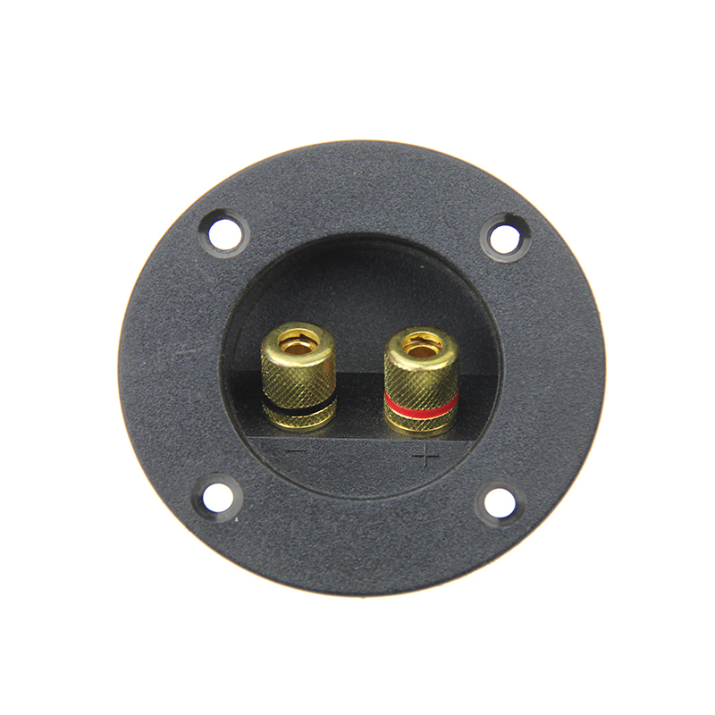 ABS speaker terminal plate Zinc Alloy speaker terminal cup