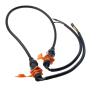 factory custom led display pure copper powercon waterproof led power cable