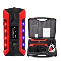 Peak 600A 12000 mAh 12V Auto Battery Booster Power Bank with LED Flashlight Phone Charger
