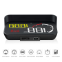 FK-M10 Car HUD Head-up Display For OBD2 II Universal Car Display Overspeed Warning System Speed Voltage Alarm HUD Projector