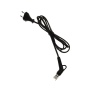 2 pin euro to angle hair iron plug swivel cord for hair straightener 360 degree swivel power cord for hair straight