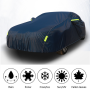 Custom Auto Accessories OEM Waterproof Polyester 170T Car Dust Cover