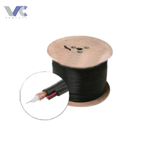 RG6 Power Video Combo Cable Roll Spool Box for Security Camera System