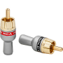 High quality Gold/Nickel Plated Audio Video RCA Male pulg RCA connector