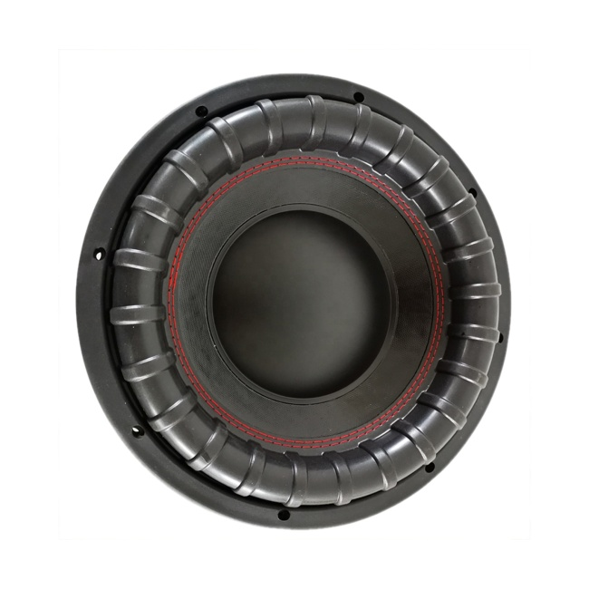 12 inch 2+2 Ohm Iron basket subwoofer car speaker 500W RMS subwoofer car audio