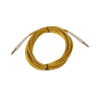 6.35mm guitar cable instrument guitar patch cable electronic guitar cable with braid