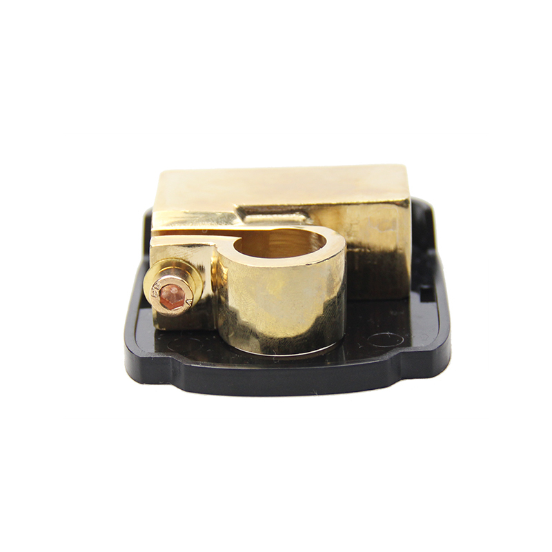 Brass gold plating automotive battery terminal clamp car battery terminal connector