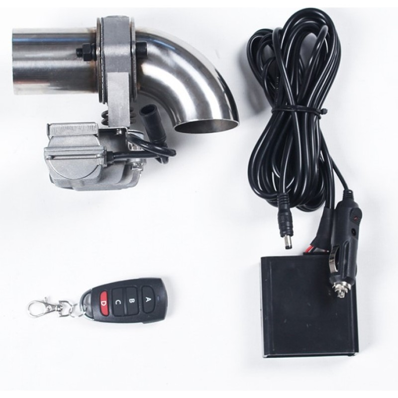 Car Electric Exhaust Valve with Remote control