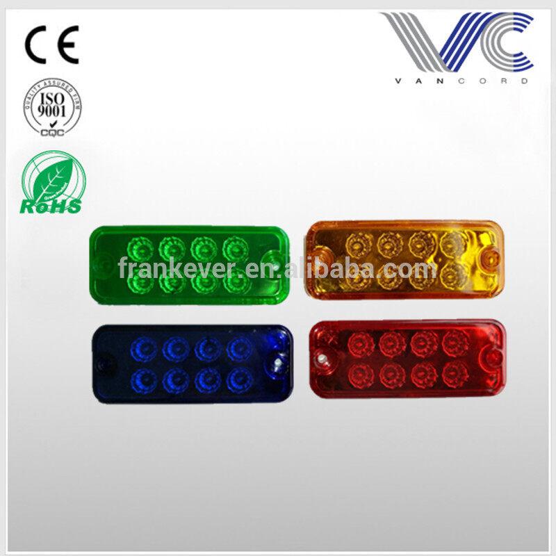 12v/24v 8led side marker lights for trucks cars