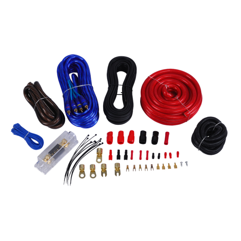 Customizable Car cable kit with double blister package