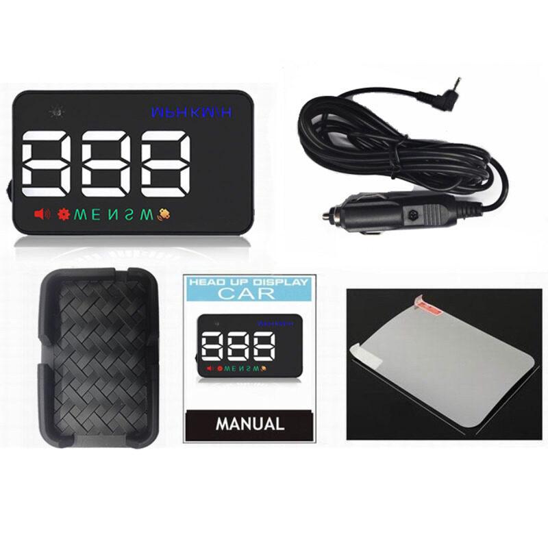 2020 Car GPS HUD Head Up Display Projector Overspeed Voltage Alarm Water Temperature Rotor