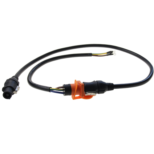 2019 new product 2 pin connector waterproof power cable wire