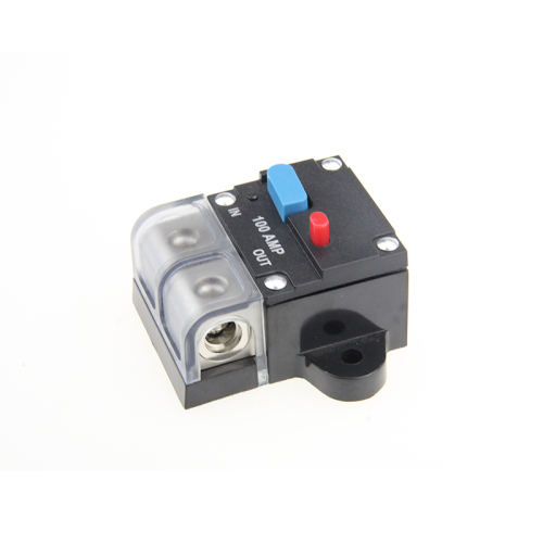 80A 100A 150A 200A 250Amps DC Car Auto Marine Stereo Audio Circuit Breaker with Manual Reset Fuse Holder for Car Audio