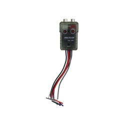 high to low converter for car audio RCA high to low converter with power remote