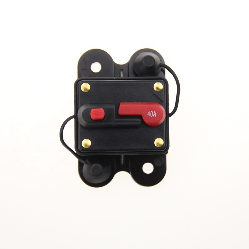 12V- 48VDC Waterproof 50A 80A 100A 150A 200A 250Amp Auto Circuit Breaker with Manual Reset