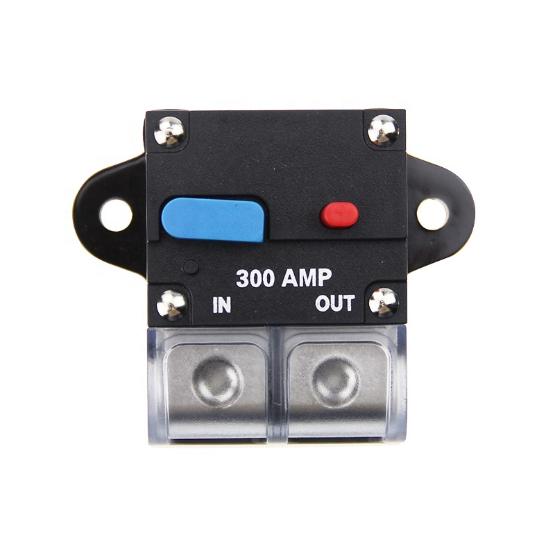 DC Car Auto Marine Stereo Audio Circuit Breaker with gold plated