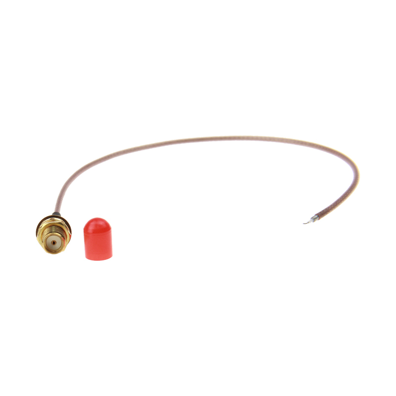 External DC~6Ghz  50/75 Ohm Antenna  SMA Female Gold-plated Antenna Pigtail Cable 200mm Antenna