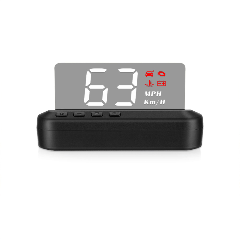 2020 plug and play obd2+gps dual mode speedometer hud C1 over speed alarm obd2 car gps hud display