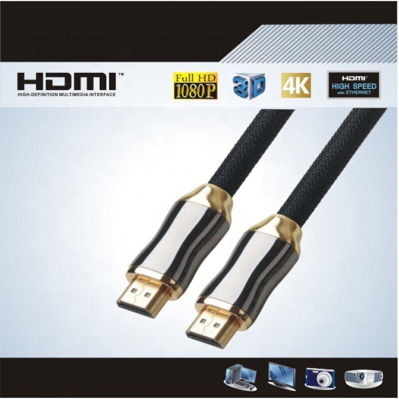 HDMI cable metal head nylon mesh 1.4V 2.0V HDMI CABLE
