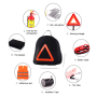 Factory Wholesale car emergency preparedness kit car emergency roadside  kit with fire extinguisher