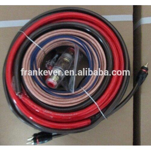 8GA 1200W High Quality Professional Power Amplifier installation kit