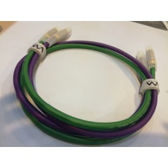 Super high level RCA cables for Audio fanciers 2R male-2R male frosted