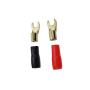 1/0awg gauge 2ga 4awg 8awg 10awg gauge Crimp fork terminal for auto car battery boat truck cable