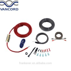 OFC Amp Wiring Kit 4 Gauge Perfect for Car Audio Amplifier Installation 2 Channel