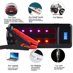 Portable waterproof car emergency starter for car or motor or small yacht