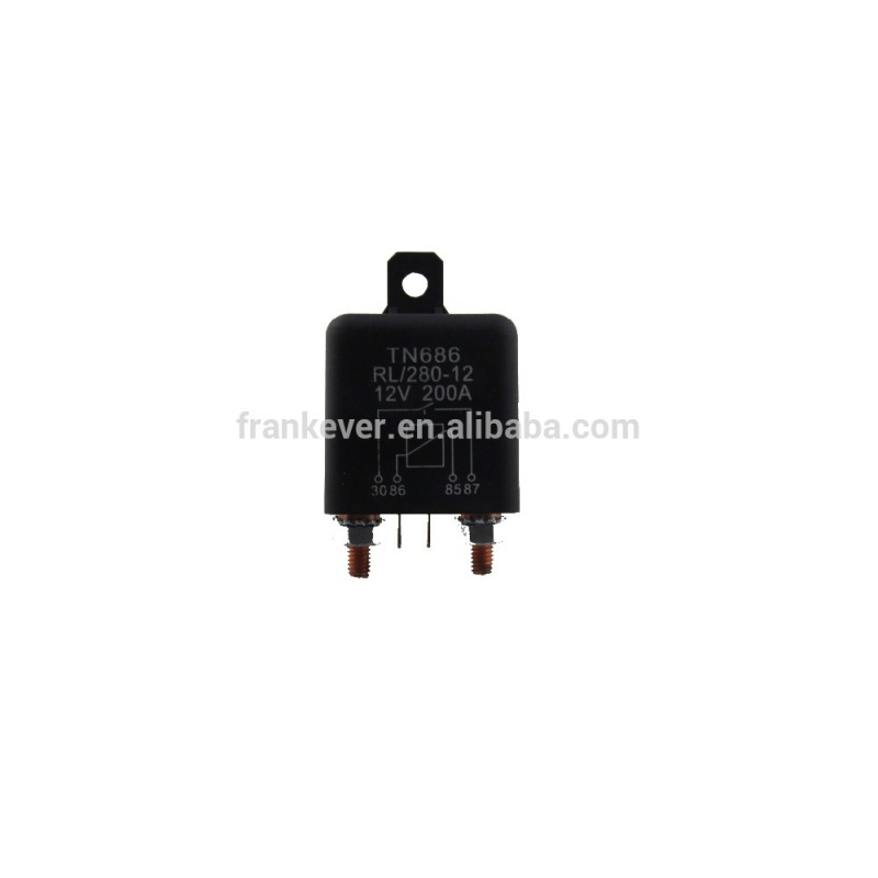 automotive electrical relay 12V 24V 200A auto started heavy relay