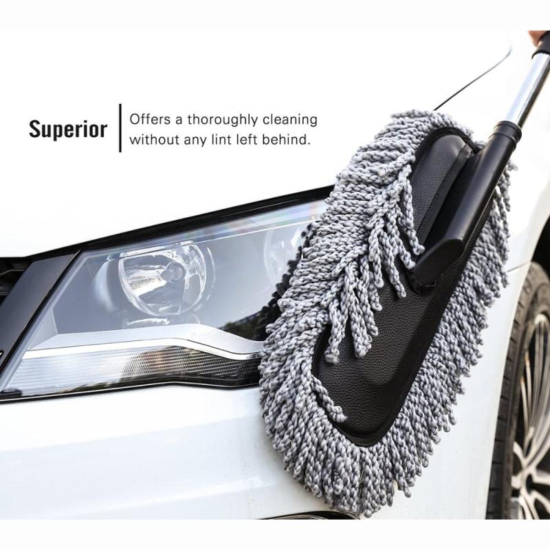 Super microfiber wash tool car cleaning duste wash cleaner brush  with long handle