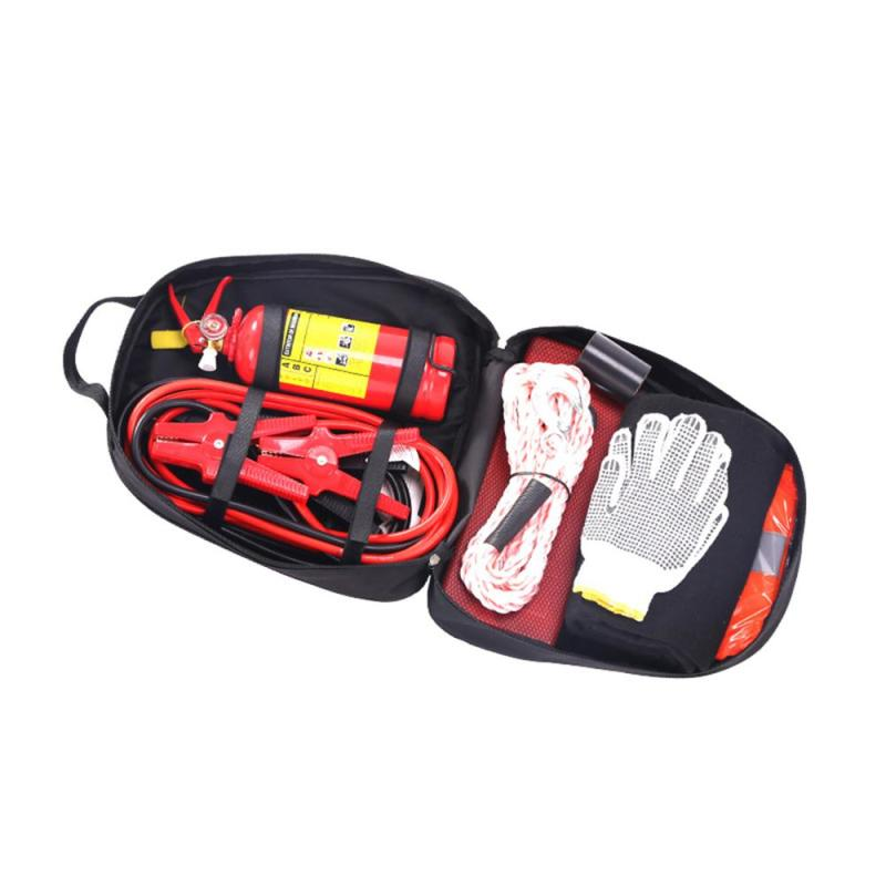Universal Automotive 8pcs Roadside Emergency Car Kit for Emergency repair and rescue