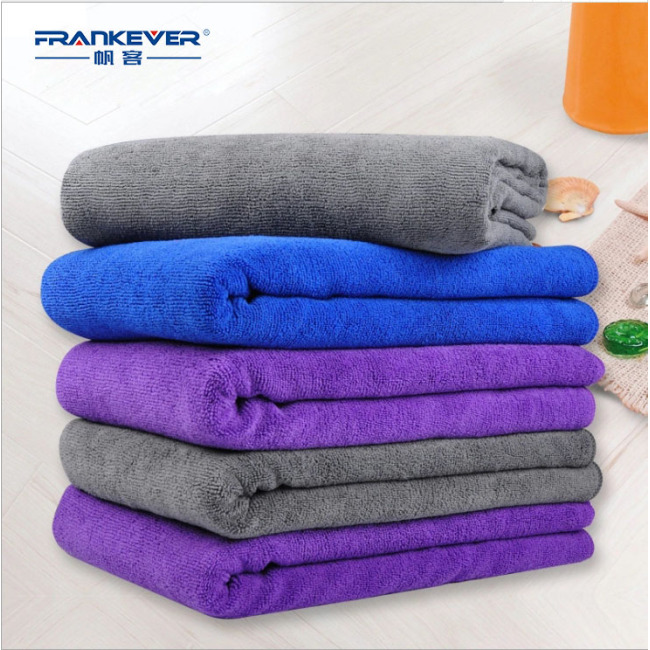 30*70 Thickened microfiber Water absorption car cleaning cloth for car