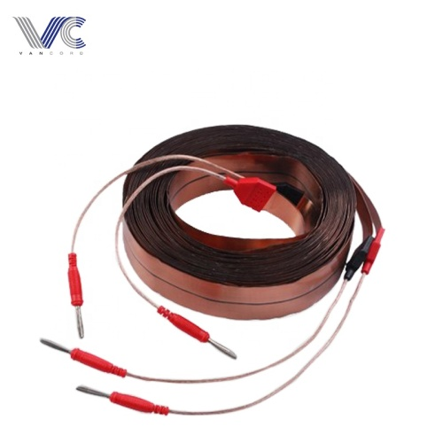 2 cores Copper 2R to 2R Auto Flat RCA Cable Made in China