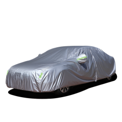 Cheap custom portable waterproof hail protection folding easy auto parking body cover outdoor snow sun car cover dust cover