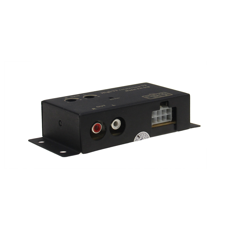 Iron Shell High Quality Speaker Level Converter To Low Line Output For Car
