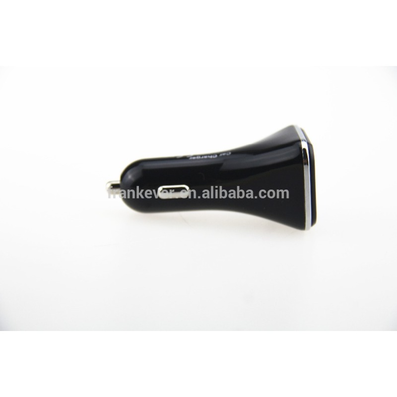5.0V 4.8A Universal Mini USB Car Charger 2Port with LED screen