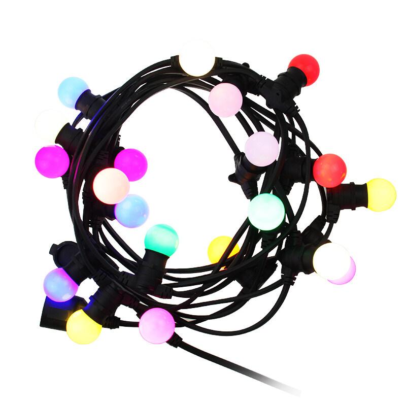 Holiday Decoration garland led string light 10m  B22 sockets outdoor Garden string light