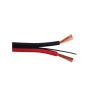 automotive black CU conductive high flexible speaker wire made in china