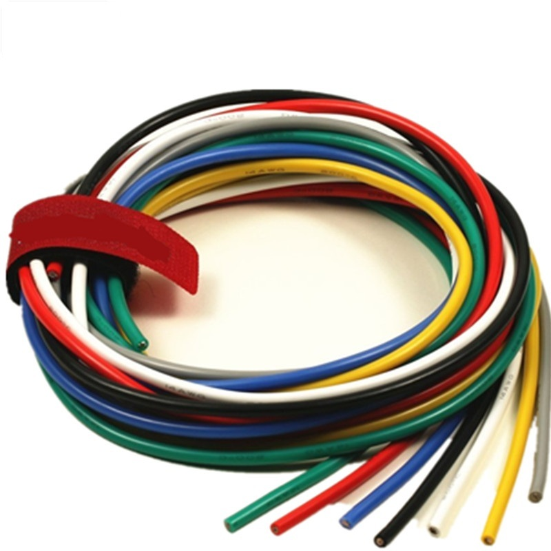 18awg colorful single core electrical wire car remote wire single cable CCA material