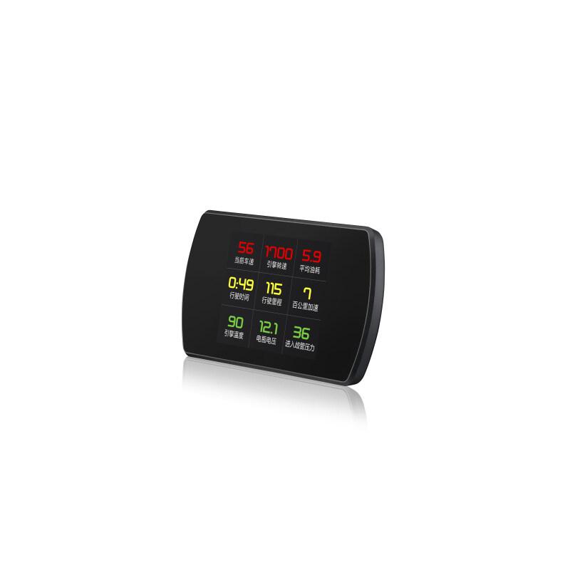 Gauge Obd2 Digital Speed Meter Projectors Gps Track Temperature Obd Ii Head Up Display For Car