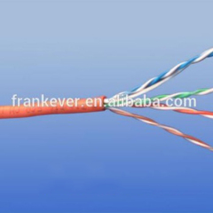 High speed Utp/ftp/sftp cat 5e network wire LAN cable