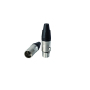 XLR Cannon 5Pin male plug Audio Microphone Connector