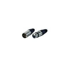 xlr microphone cable xlr plug 4pin mini xlr connector cable
