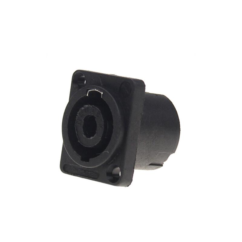 2020 New Product Panel Mounting Speakon Female Audio Loudspeaker Jack Socket