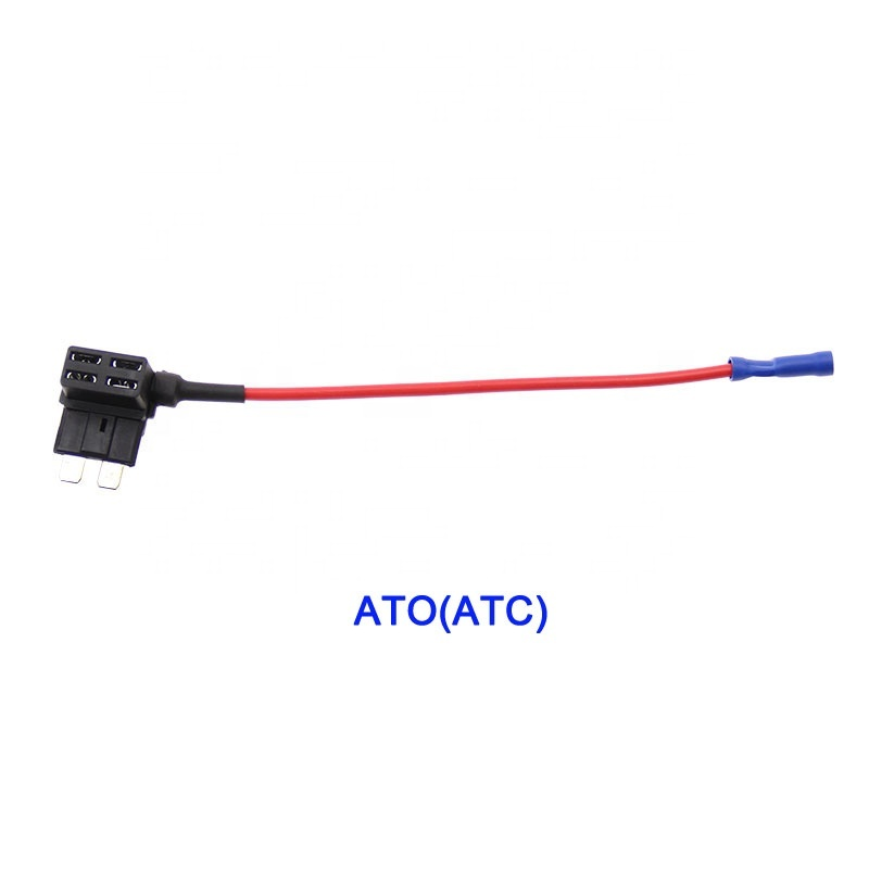12V Low Profile Mini Car Add-A-Circuit Fuse TAP Adapter Fuse Holder with fuse optional