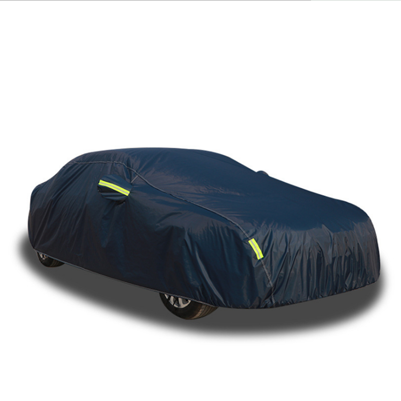 All weather proof Universal Zipper Car Cover with Mirror Pocket