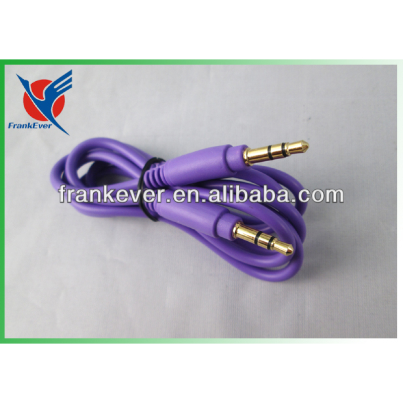 audio cable 3.5mm male stereo jack to 3.5mm male stereo Aux cable